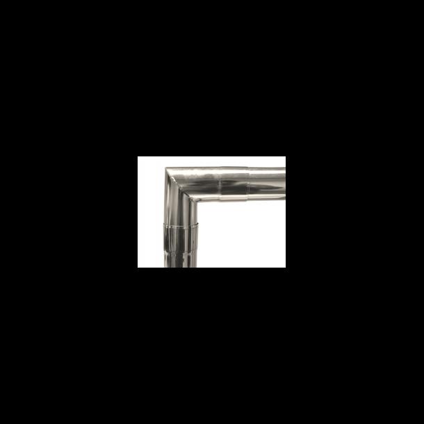 G-stove Skorstensrør - retvinklet