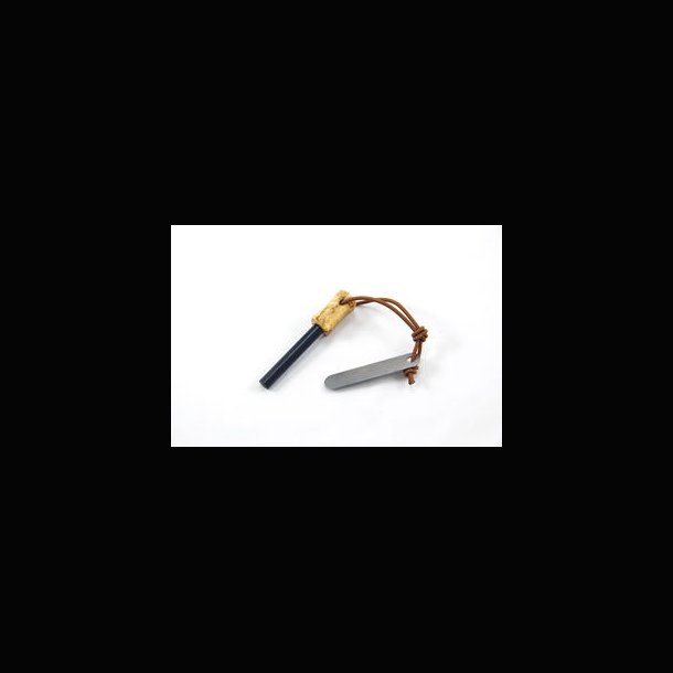 Casström ildstål med masurbirk håndtag