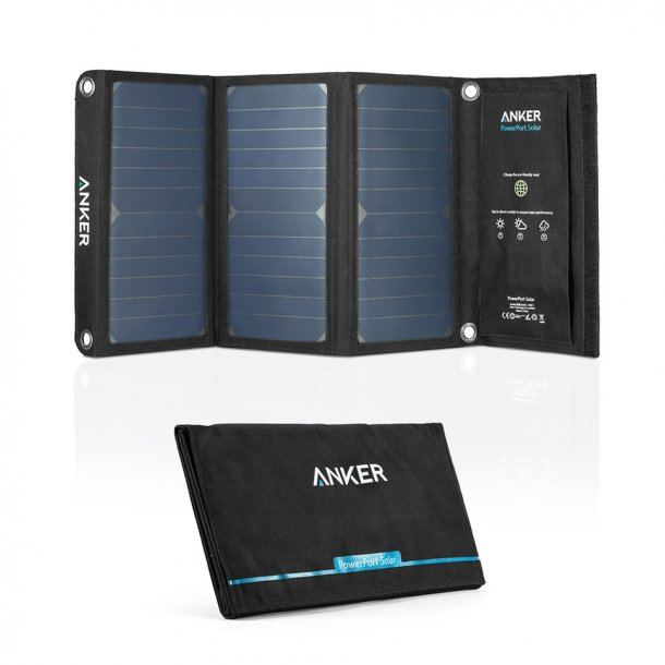 Anker 21W solcelle