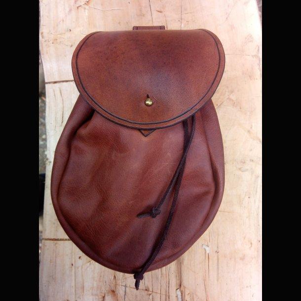 Viking bæltetaske læder
