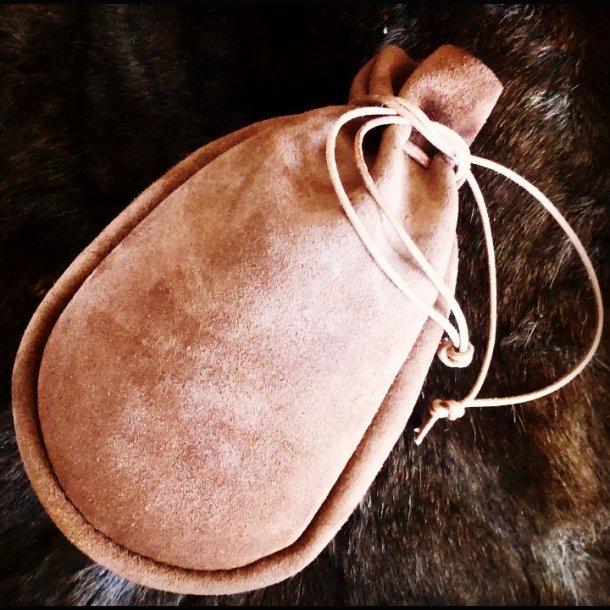 Kaffepose Læder